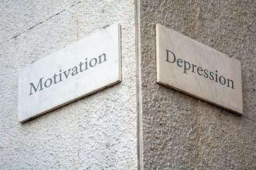 Schild 109 - Depression
