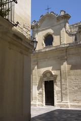 Lecce, città della Puglia, Italia