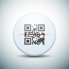 QR Code scan button