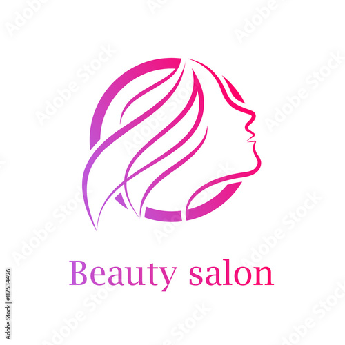 Abstract letter o logo beauty salon logo design template for Abstract beauty salon
