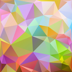Color polygonal pattern