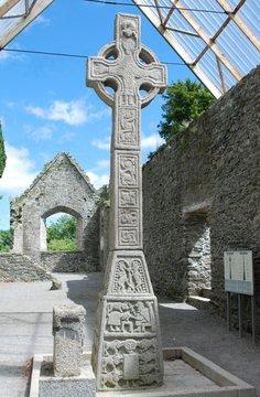 Moone High Cross, Kildare, Ireland