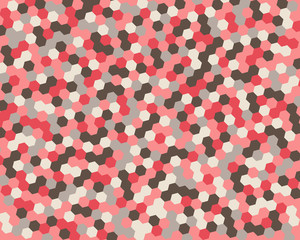 Abstract background hexagon. Vector illustration.