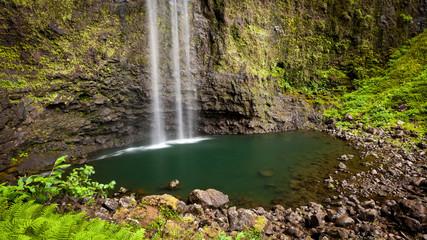 Waterfall, Hanakapiai Falls, Kauai, Hawaii, United States of America