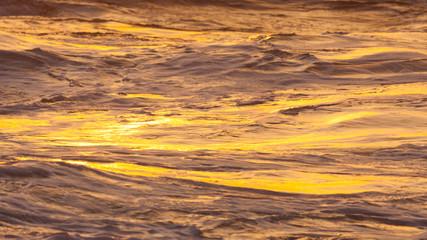 Sunset on sea,  Kauai Island, Hawaii, United States of America