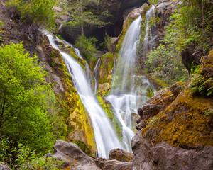 Waterfall, Big Sur, Salmon Creek, California, United States of America