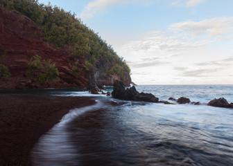 Red sand, Kauai, Hawaii, United States of America