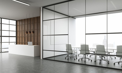Meeting room and reception