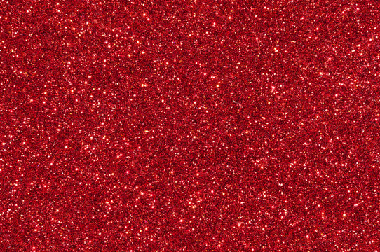 red glitter texture abstract background