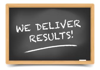 Blackboard We Deliver Results