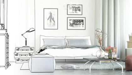 Tango inside my Bedroom (plan)