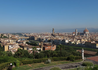 Florence cityscape panorama