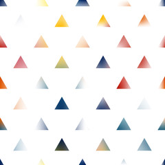 Creative abstract art triangles background.