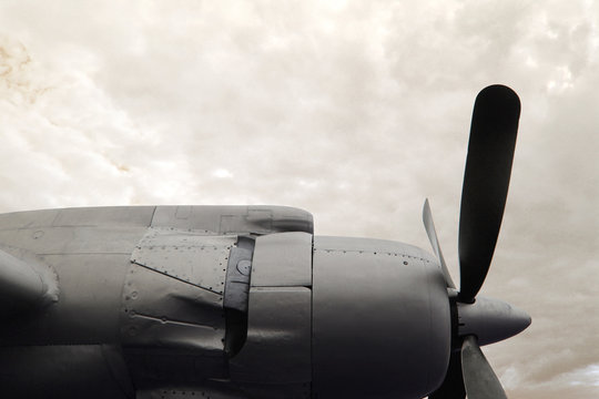 old plane photo