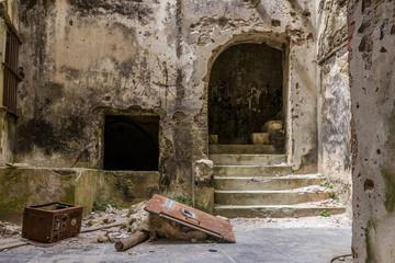 Old abandoned ruins, Favignana, Sicily