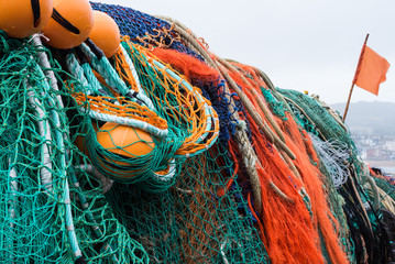 Fishing net / Fishing nets for use as a graphic background