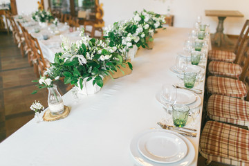 Wedding décoration table ideas