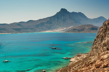 Crete, Greece: Gramvousa island and Balos Lagoon