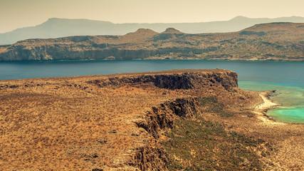 Crete, Greece: Gramvousa island and Balos Lagoon
