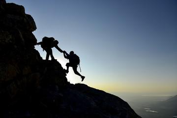 zorlu koşullarda tırmanış başarısı