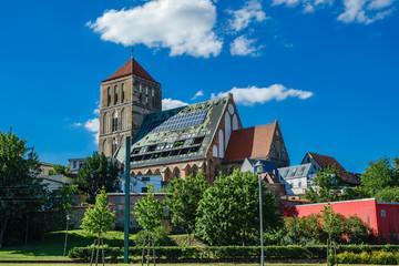 Nikolaikirche in der Hansestadt Rostock