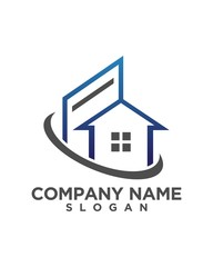 real estate vector logo design 191
