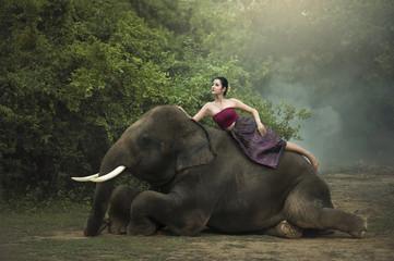 Thai, Portrait woman