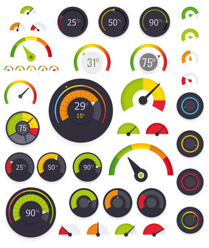 Vector gauges set