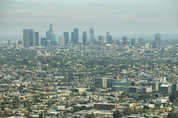 Fotomurales - Downtown Los Angeles skyline