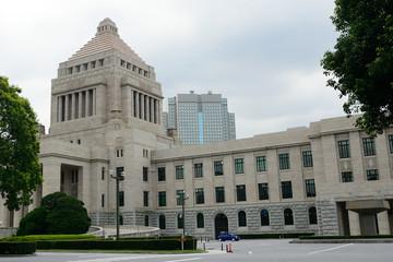 Parliament building, Tokyo, Japan