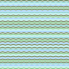 chevron stripe vector seamless pattern turquoise clored
