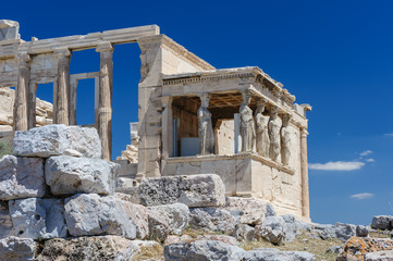 Caryatids at Porch of the Erechtheion, Acropolis