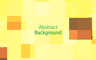 Yellow and white color background abstract art vector