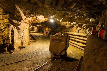 Walk the old abandoned mine, Harrachov, Czech Republic