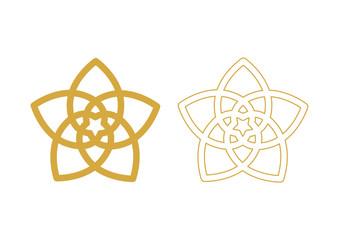 Venusblume - Blume der Liebe - Gold