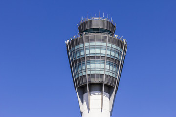 The Air Traffic Control Tower at Indianapolis International Airport I