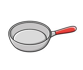 Frying pan icon.
