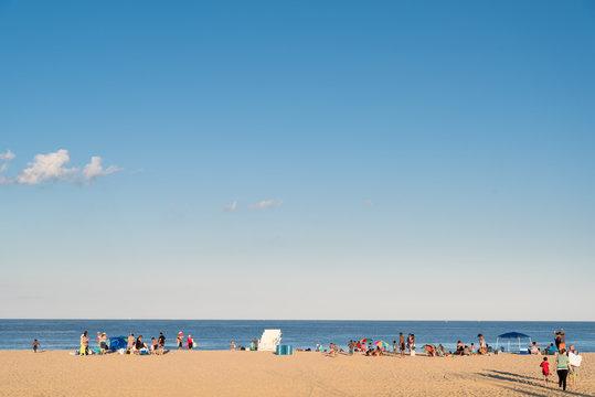 Belmar Beach, New Jersey