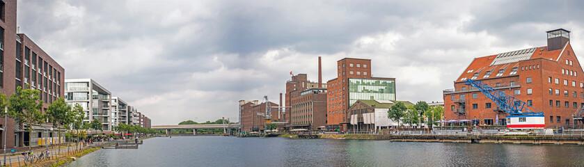 Panorama Innenhafen Duisburg