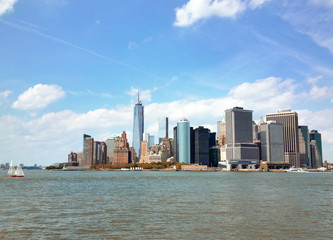 Lower Manhattan from Governor's Island