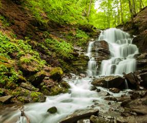 Breathtaking clean waterfall