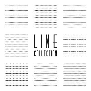 Lines collection