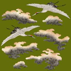 日本的な鶴