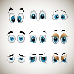 Cartoons eyes