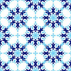 Zellige Tile seamless. Moorish patern
