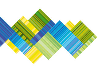 blue and green vector header with colorful stripe. line stripe s