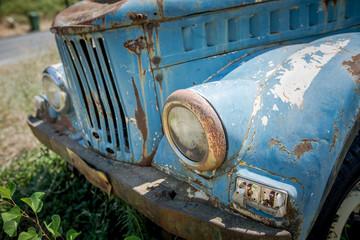 Auto abbandonata
