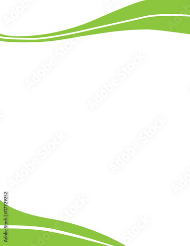 Green swirl wave letterhead template stock image and royalty free green swirl wave letterhead template spiritdancerdesigns Choice Image
