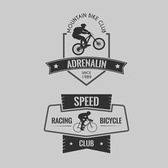 Bike club badges