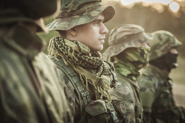Discipline and rigour in army